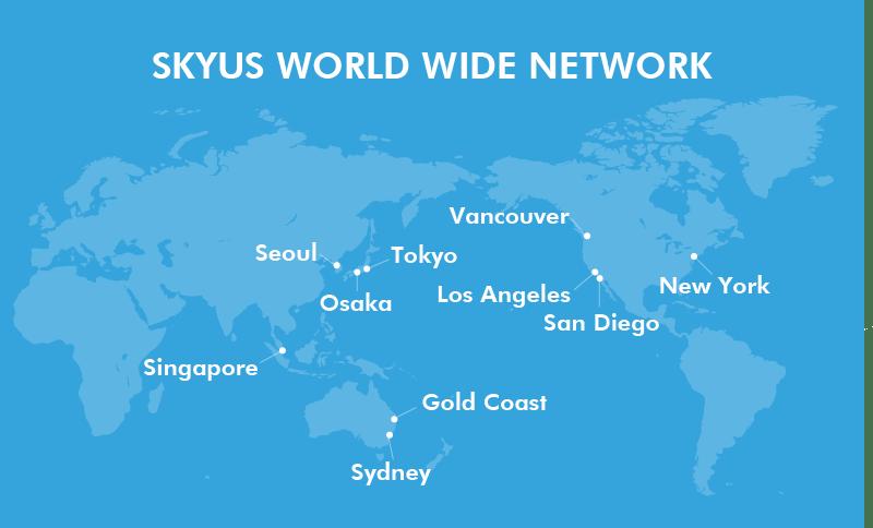 SKYUS map